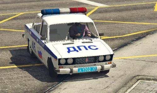 Полицейская ВАЗ 2106