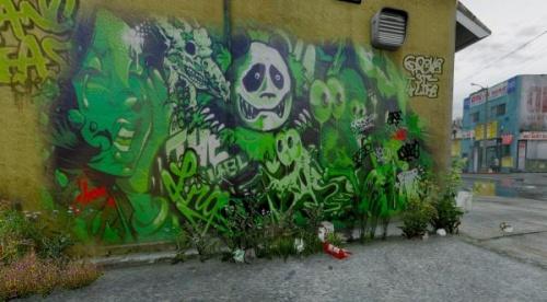 Новые граффити Грув Стрит