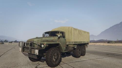 Военный Урал 4320